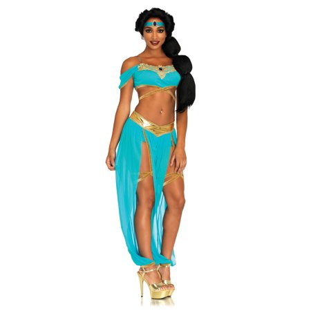 Infant Princess Jasmine Costume (Jasmine Oasis Princess Costume - Blue -)