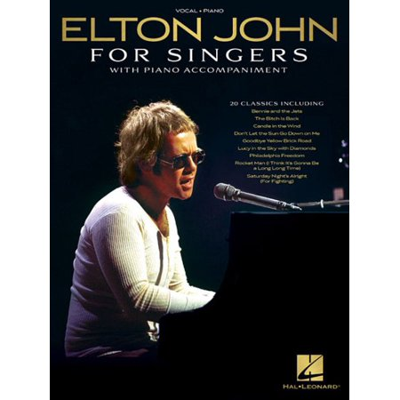 Elton John for Singers : With Piano Accompaniment