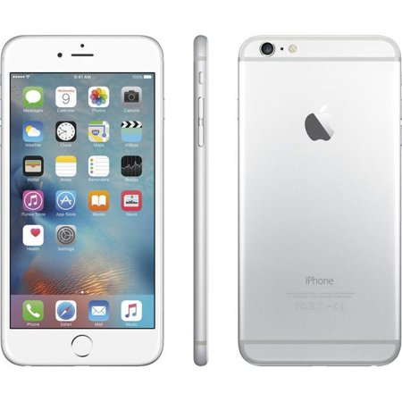 refurbished iphone 6 plus 16gb silver unlocked. Black Bedroom Furniture Sets. Home Design Ideas