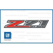 Decal Mods Chevy Silverado Z71 Offroad Truck Stickers Decals - F (2014-2017) Bedside (Set of 2)