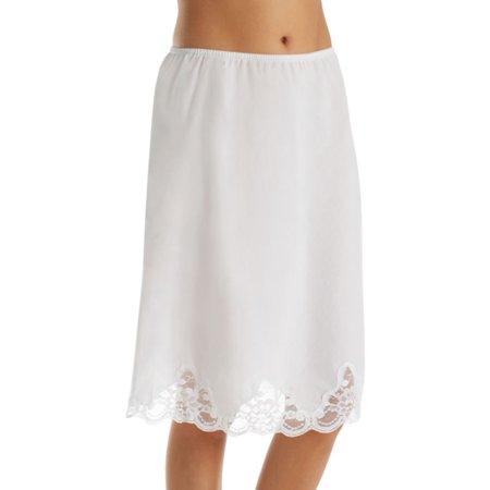 - Women's Shadowline 4537 Cotton Batiste 23 Inch Half Slip