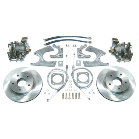 Right Stuff AFXRD01 Rear Disc Brake Conversion Kit, - Camaro Disc Brake Conversion