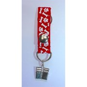 Poopy Carrier Classic Bone & Paw Dog Poop Bag Carry, Red