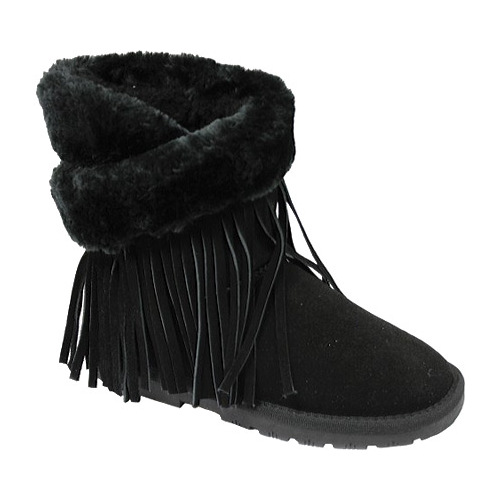 Girls' Lamo Fringe Wrap Boot by