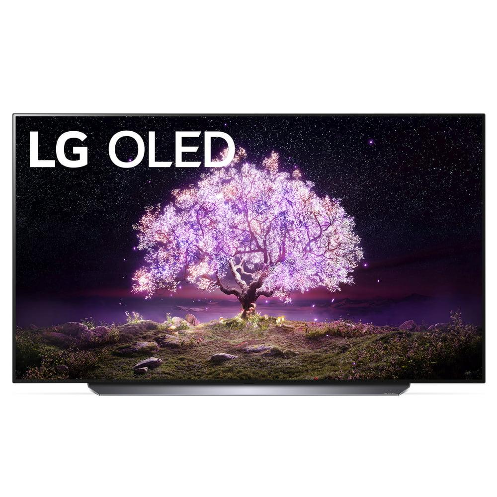 "LG 77"" Class 4K UHD Smart OLED C1 Series TV with AI ThinQ® OLED77C1PUB"