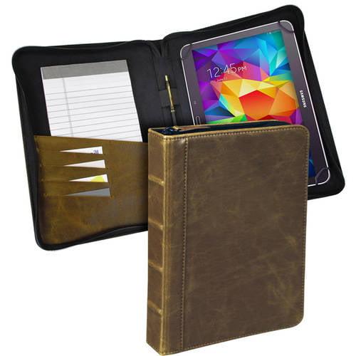 "10"" Universal Book Tablet Case, Tan"