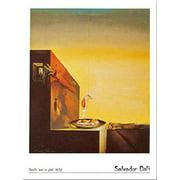 Uova Sul Piatto by Salvador Dali 12x9.5 Art Print Poster