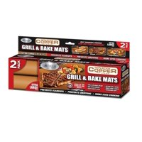 Gotham Steel Non-Stick Copper Grill & Baking Mats, 2 Count