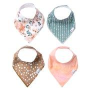 Copper Pearl : 4 Bandanas Bibs / autumn