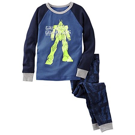 Oshkosh Bgosh Little Boys 2 Piece Snug Fit Cotton Pajamas