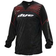 Dye Ultralite UL Paintball Jersey - Black/Red - X-Small/Small