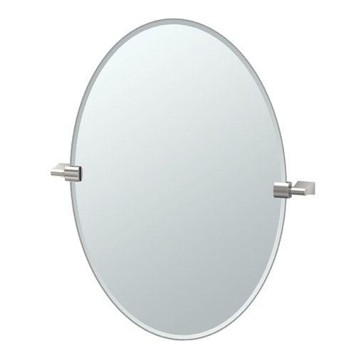 Gatco Bleu Oval Mirror by Gatco