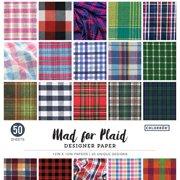"Colorbok 12"" Mad Designer Paper Pad, 50 Piece"