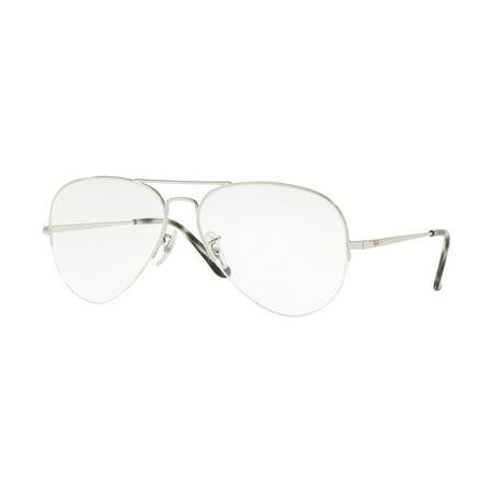 9a8b0f8ef36 Eyeglasses Ray-Ban Optical RX 6589 2501 SILVER - Walmart.com