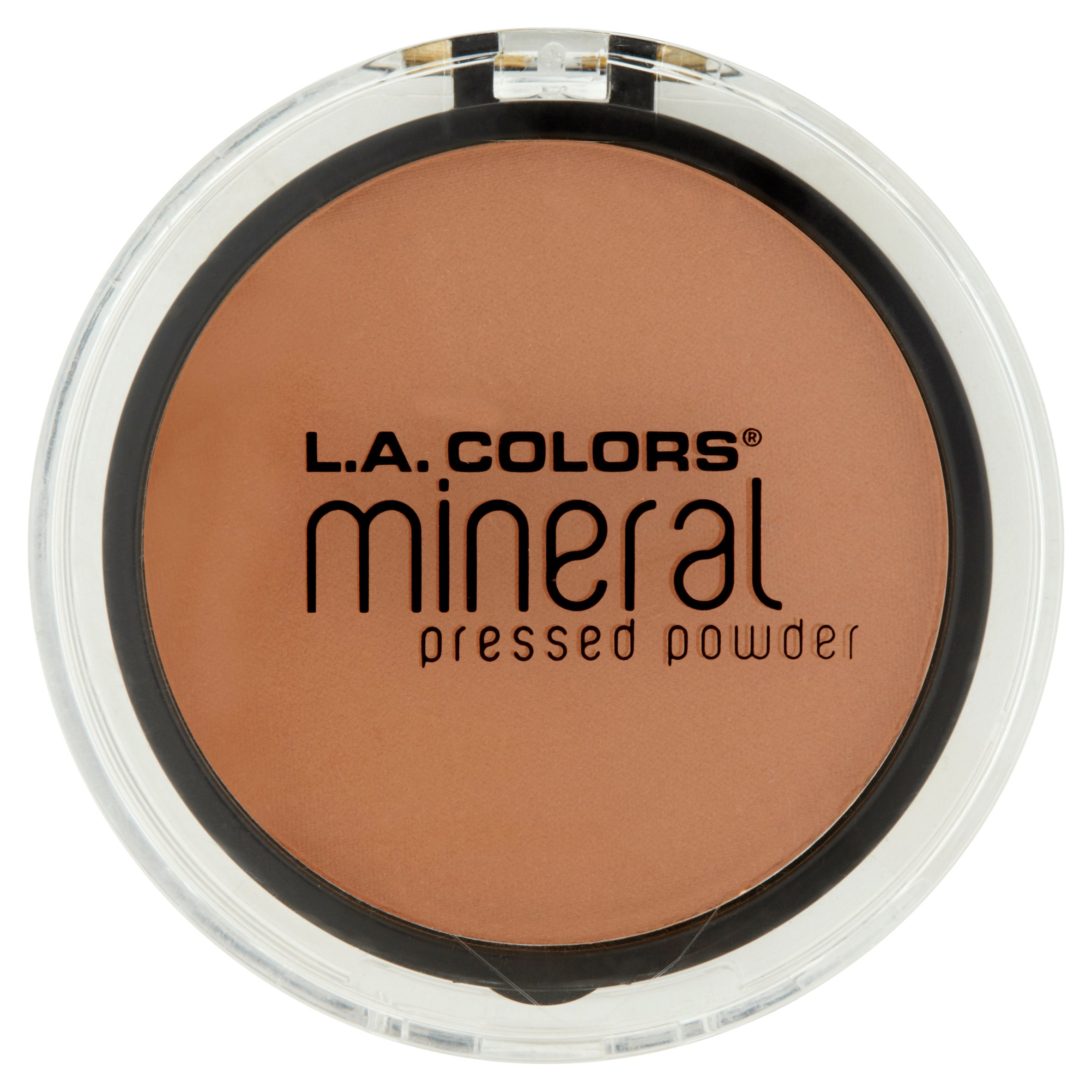 L.A. Colors CMP310 Toasted Almond Mineral Pressed Powder, 0.26 oz
