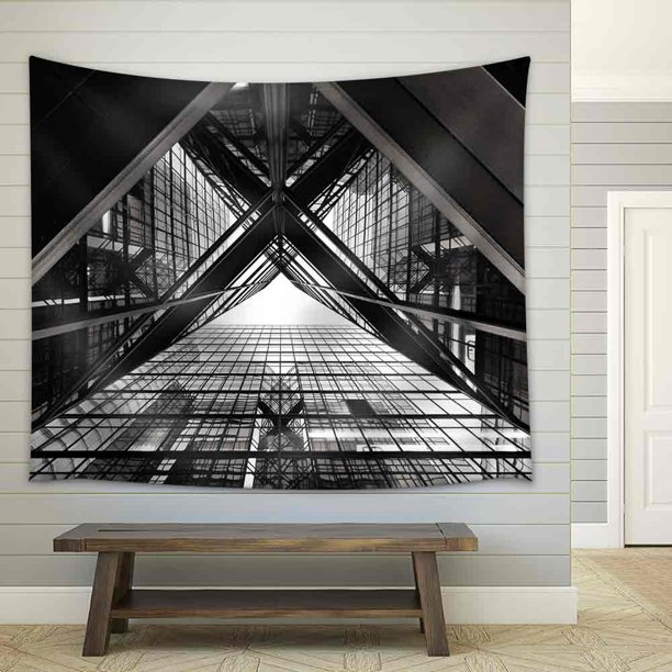 Wall26 Abstract Image Of Office Building Fabric Wall Tapestry Home Decor 68x80 Inches Walmart Com Walmart Com