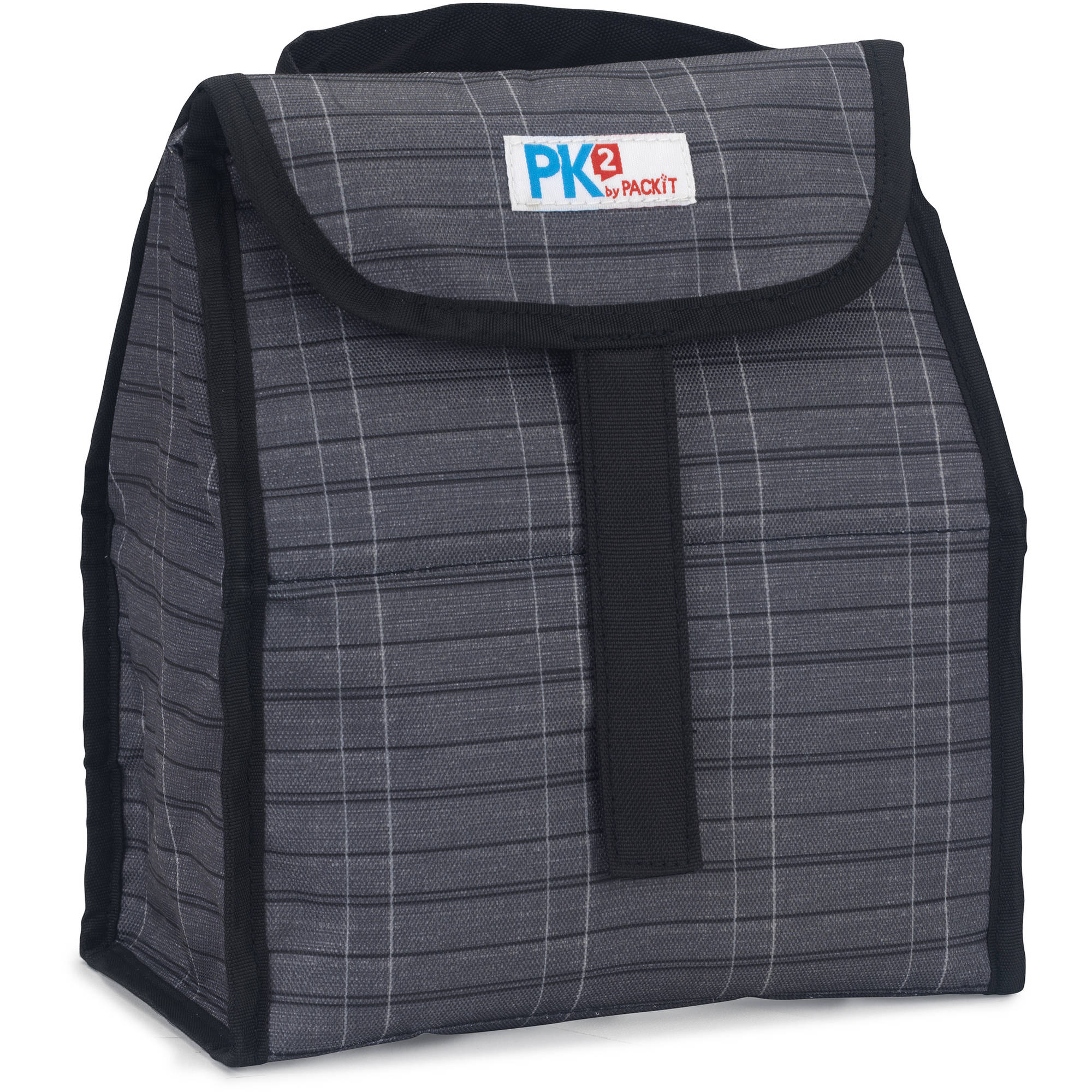 PackIt PK2 Lunch Sack, Urban Plaid