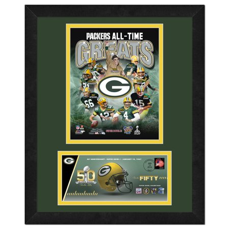 Green Bay Packers   Commemorative Super Bowl Cover And Photo With Envelope  All Time Greats