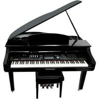 Suzuki MDG-4000ts TouchScreen Baby Grand Digital Piano Black