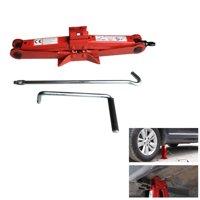 Zimtown 1.5 Ton Heavy Duty Scissor Jack Auto Cars Emergency Repiar Crank Lift Tool