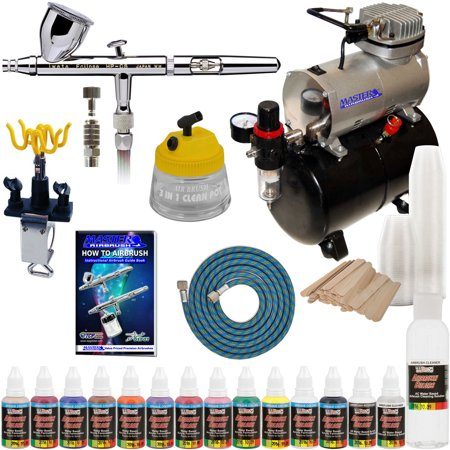 Set Iwata Parts (Iwata HP-CS Eclipse Airbrush System Kit Compressor Airbrush Paint)