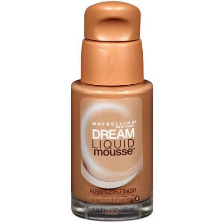 Maybelline New York Dream Liquid Mousse Foundation, Pure Beige, 1.0 fl oz