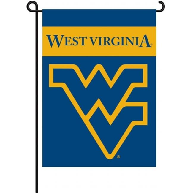 BSI PRODUCTS 83012 2-Sided Garden Flag - West Virginia Mountaineers