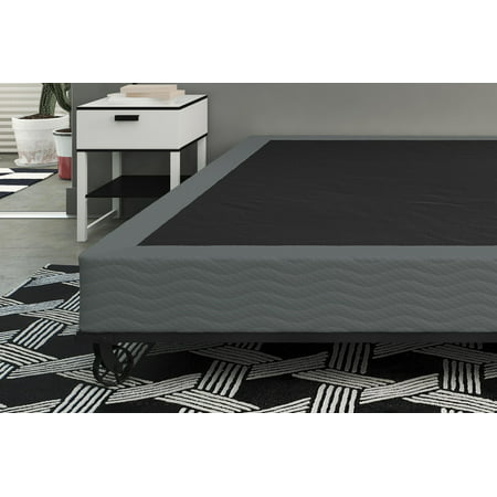 Belham Living 7 Inch Folding Metal Box Spring Easy Assembly Mattress Foundation, King