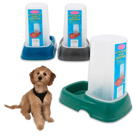 Pet Automatic Food Water Dispenser 1 5 Ltr Feeder Dog Cat