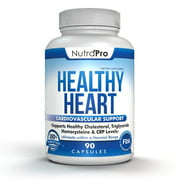 Healthy Heart - Heart Health Support Supplements. Artery Cleanse & Protect. Supports Cholesterol Lowering By NutraPro