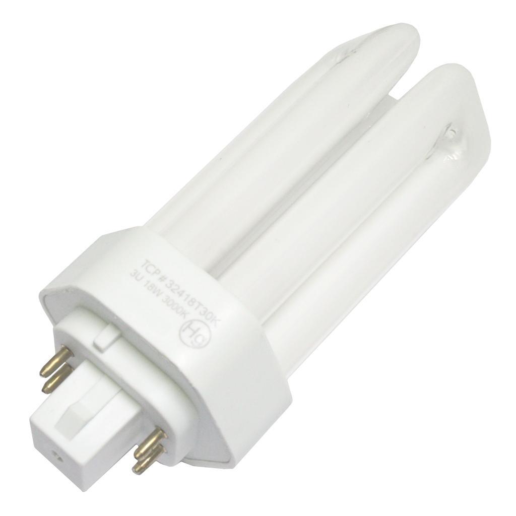 TCP 10233 - 32418T30K Triple Tube 4 Pin Base Compact Fluorescent Light Bulb