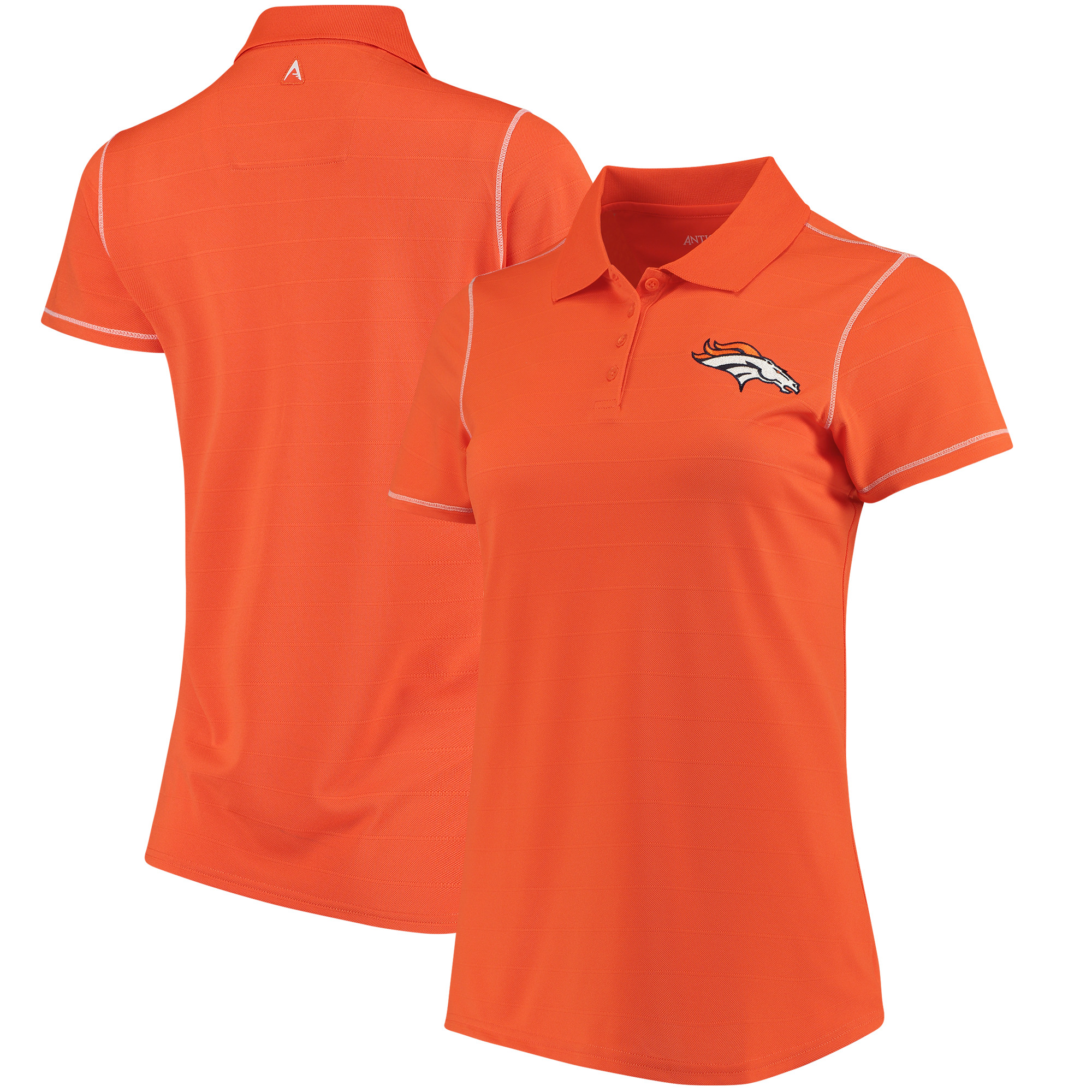 Denver Broncos Antigua Women's Icon Polo - Orange - M