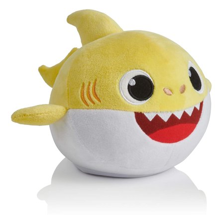 Baby Shark Singing Dancing Doll Stuffed Plush Toy Birthday New Year Gift for Kids (Shark Toys Kids)