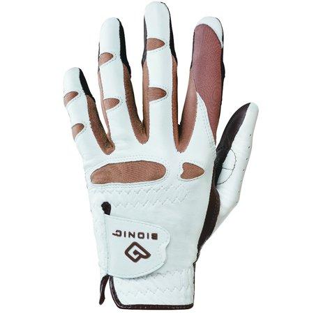 Women's StableGrip with NaturalFit Golf Glove Left Truffle Large