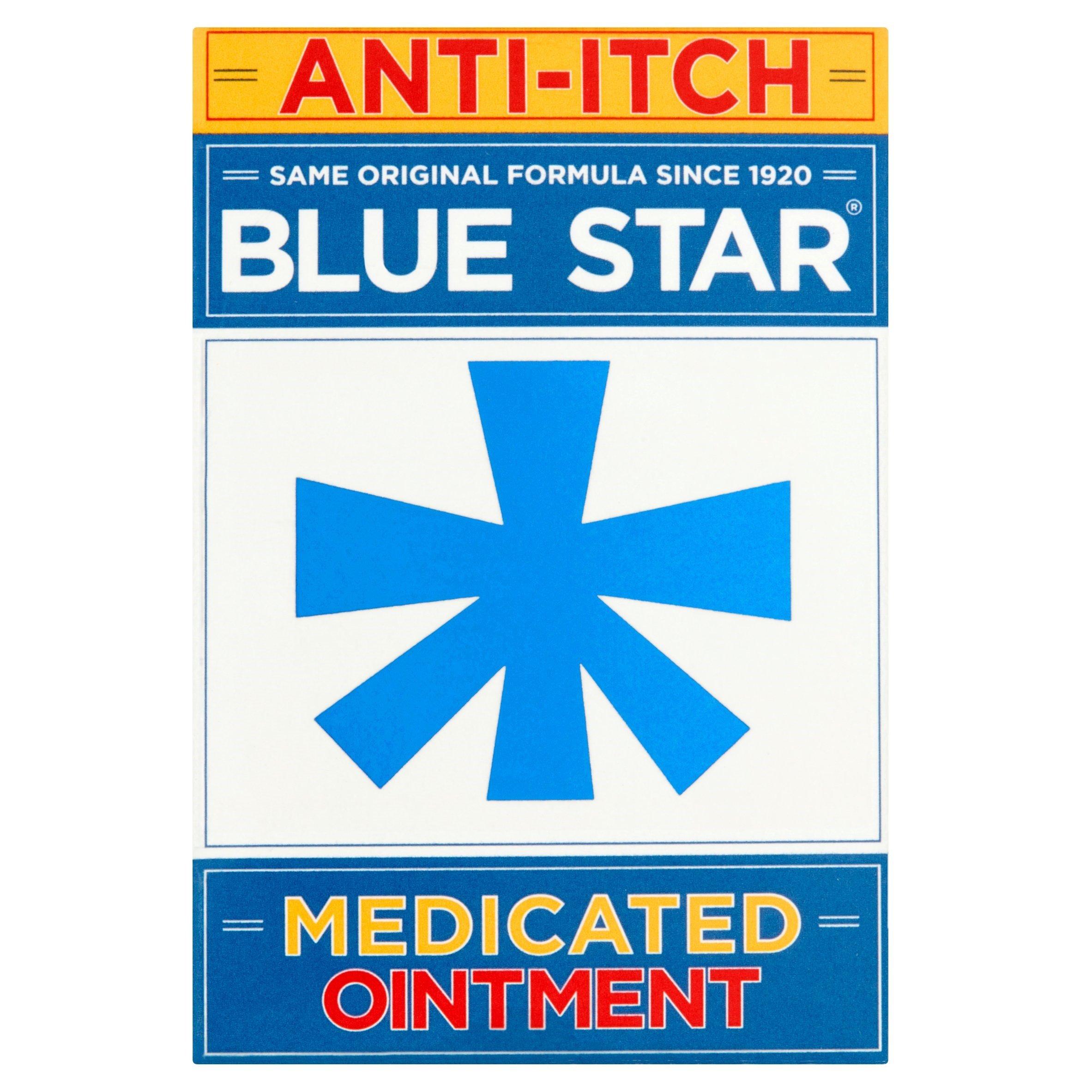 Blue Star Anti Itch Ointment, 2 Oz Jar