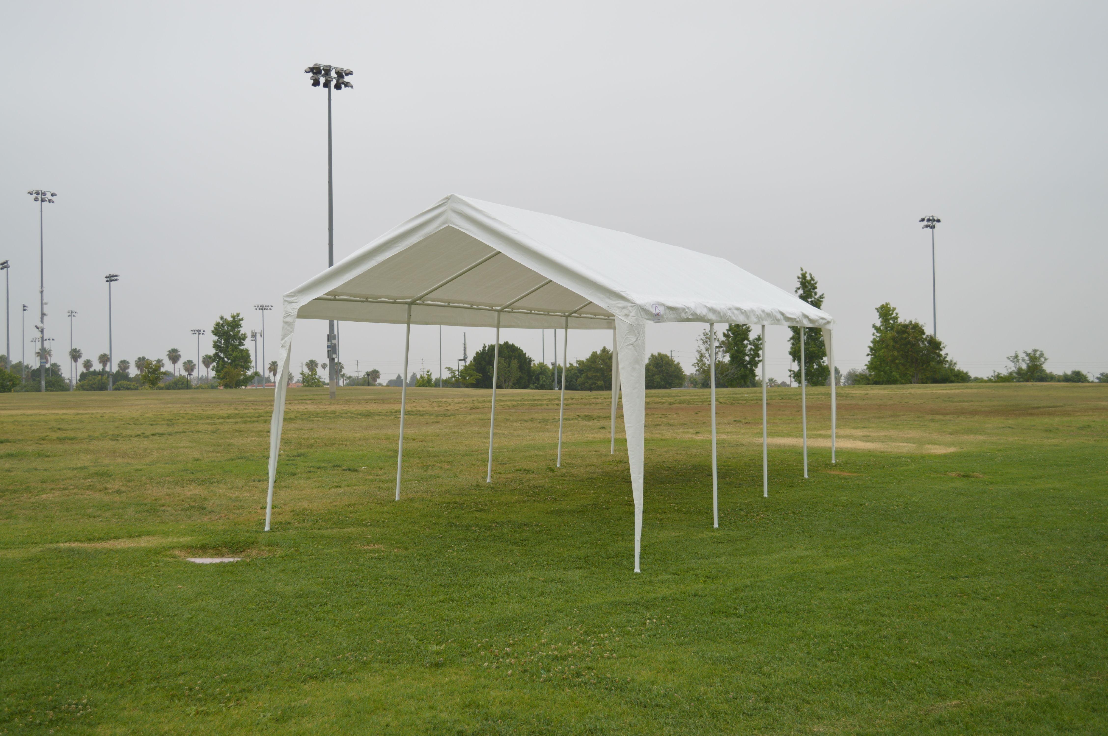 10' x 27' Carport Canopy Universal Grade Dual Carport by Impact Images Inc