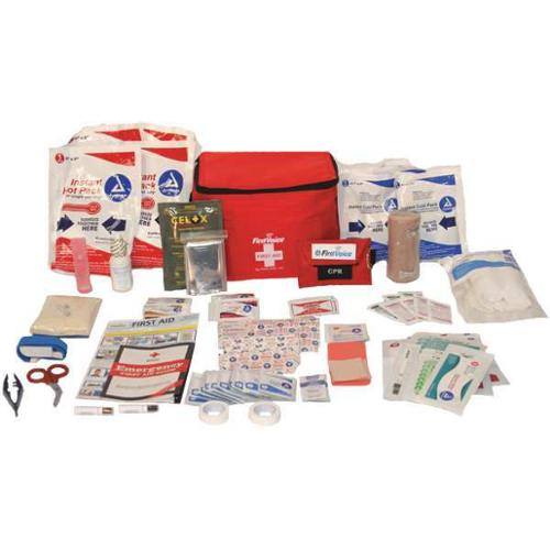 FIRST VOICE HIKE03 First Aid Kit,97 Components G2097299