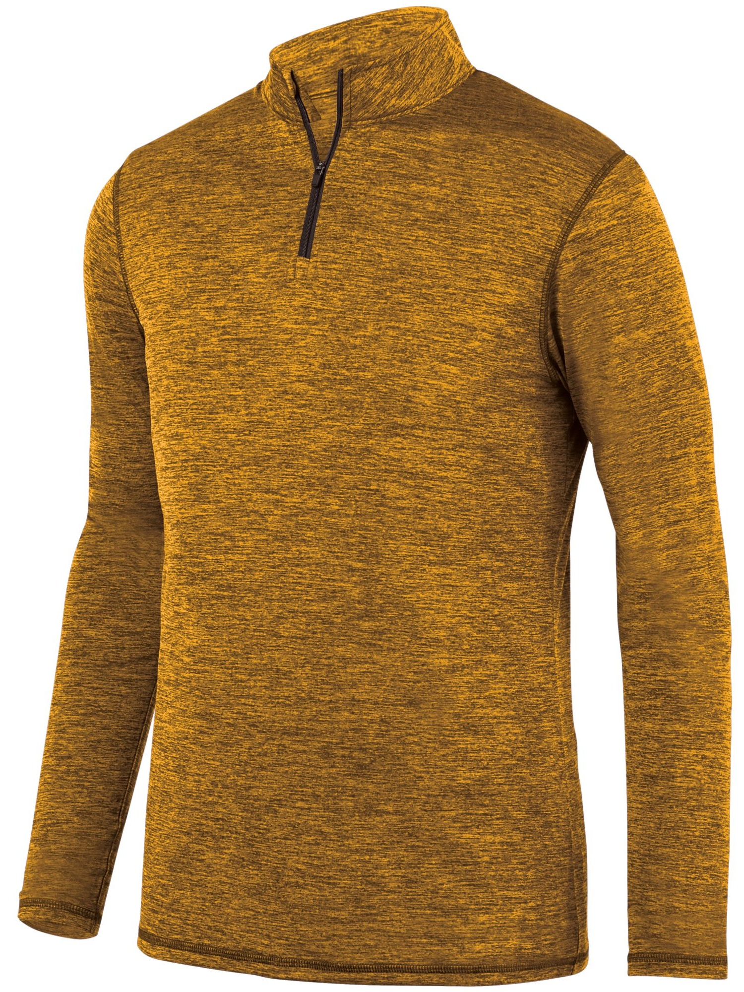 Augusta Sportswear Men's Intensify Black Heather 1/4 Zip Pullover 2955