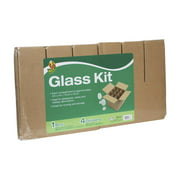 Duck Brand Drinking Glass Kitchen Moving Kit, 1 Box and 4 Dividers