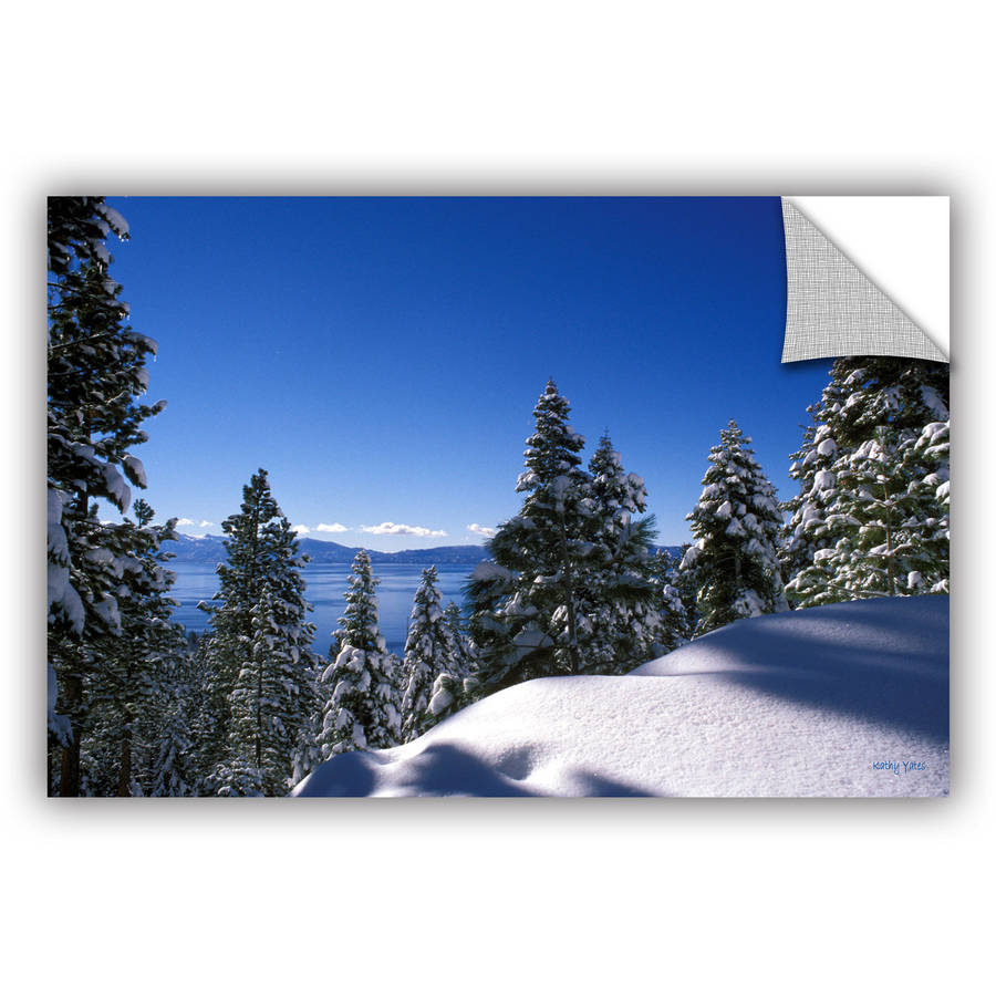 "Kathy Yates ""Lake Tahoe In Winter"" Removable Wall Art"