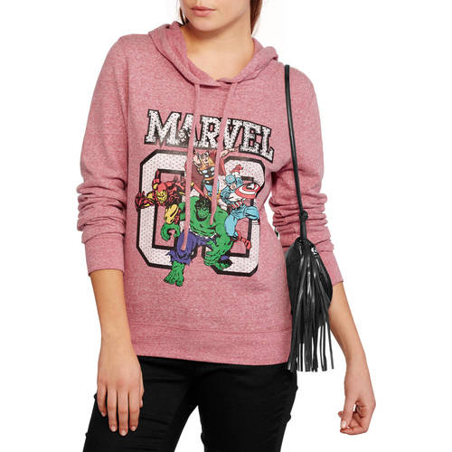 Marvel Juniors' Graphic Hoodie