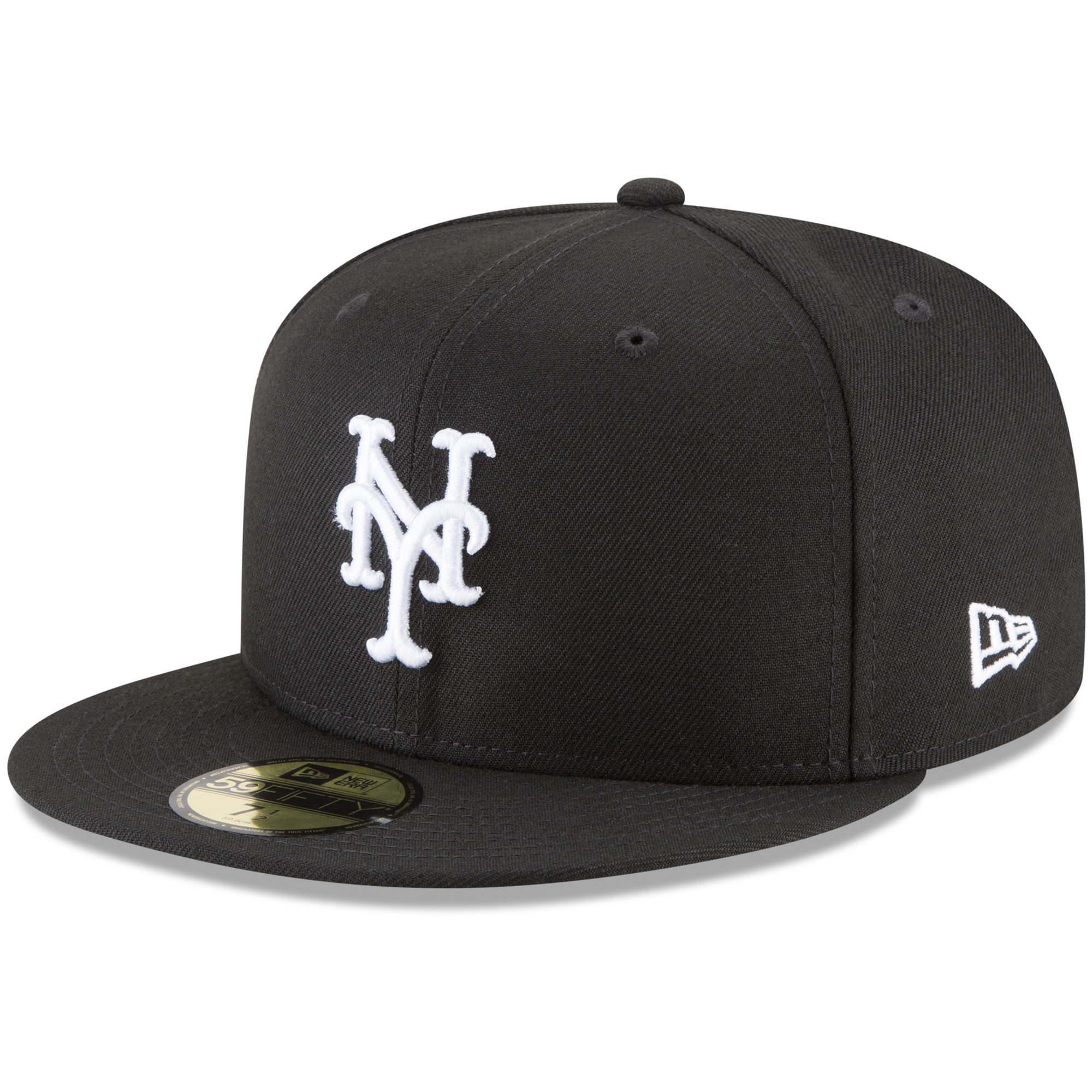 New York Mets New Era Basic 59FIFTY Fitted Hat - Black