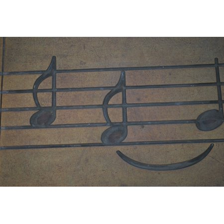 LAMINATED POSTER Music Notes Sheet Treble Clef Musical Music Notes Poster Print 24 x 36