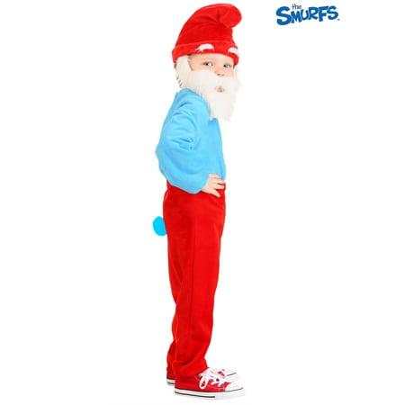 The Smurfs Toddler Papa Smurf Costume - image 1 of 4