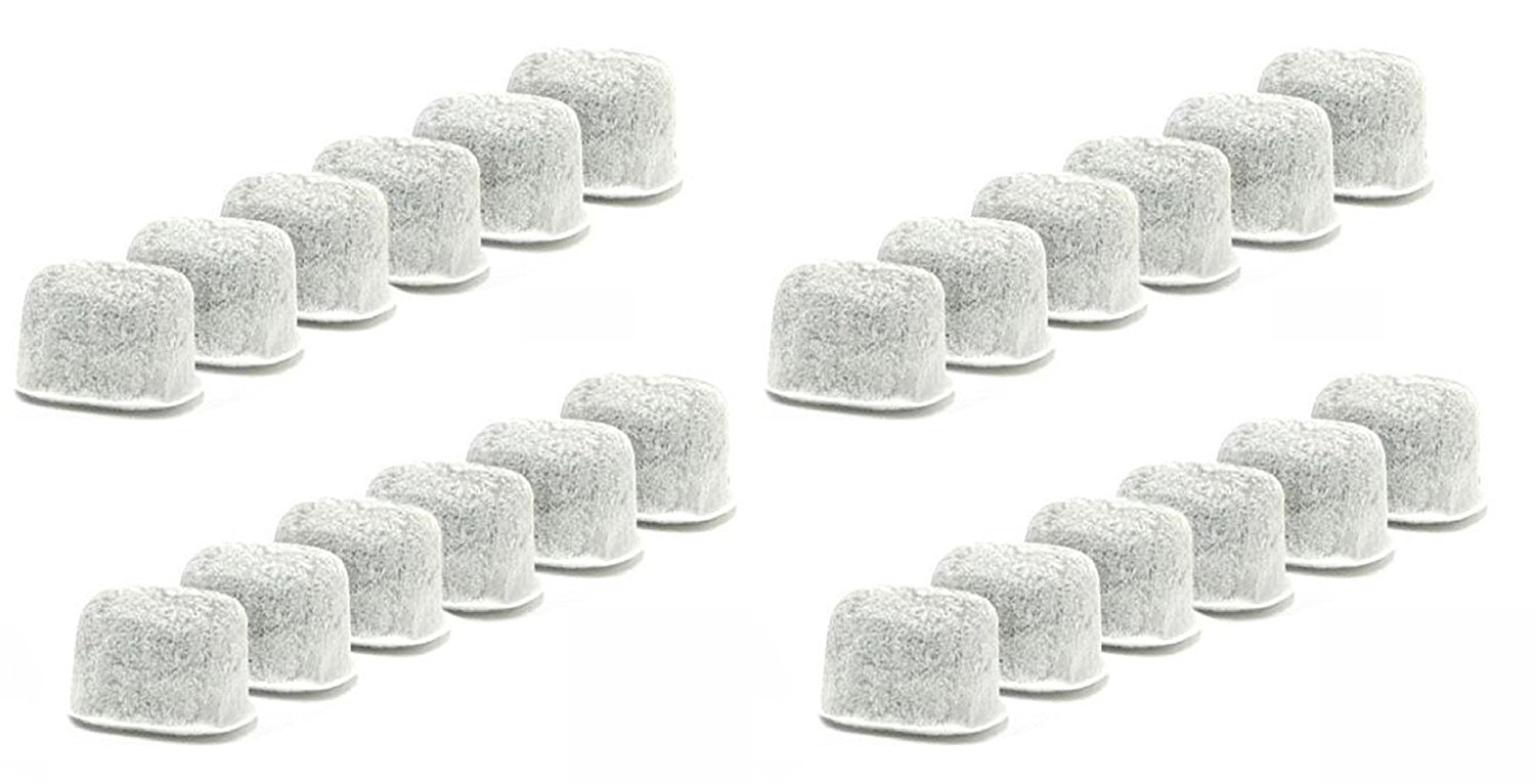 24-Pack Replacement Charcoal Water Filters for Keurig Coffee Machines By NISPIRA by NISPIRA