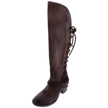 7270313ae20a76 FREEBIRD - Freebird by Steven Womens Leather Lace-Up Riding Boots -  Walmart.com