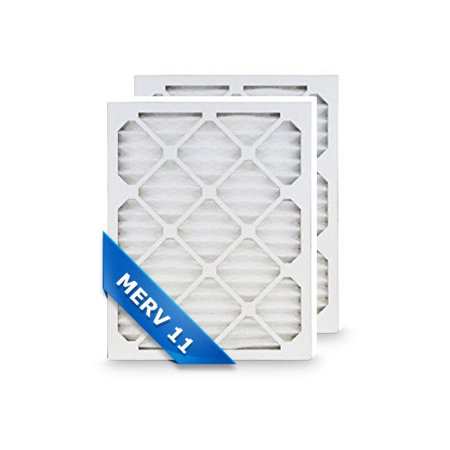 Replacement 20x25x1 One Inch Furnace Air Filter (MPR 1000) Merv 11 100% Made In The USA (2 Pack)