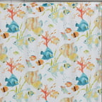 Creative Bath Rainbow Fish Shower Curtain, Multi-Color