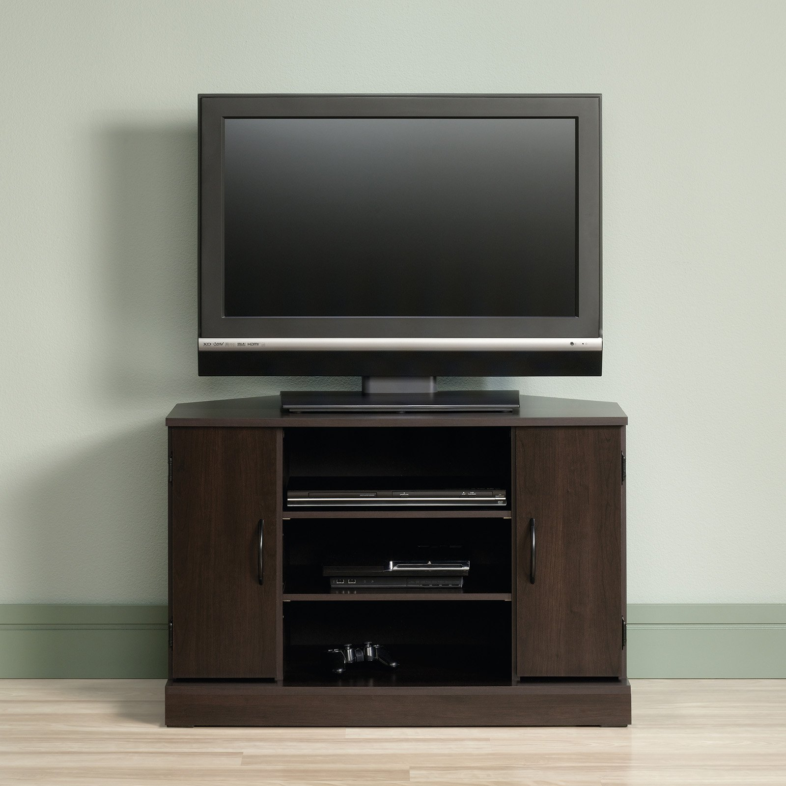 Sauder Beginnings Corner TV Stand