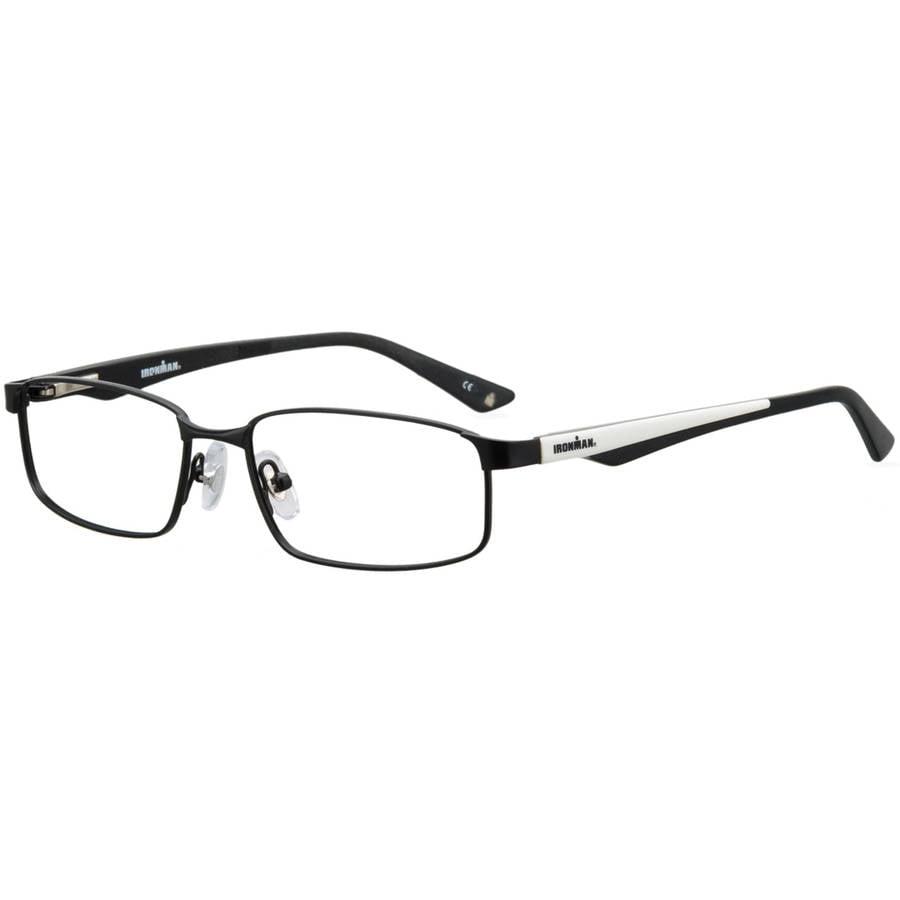 ironman mens prescription glasses 101 black walmart